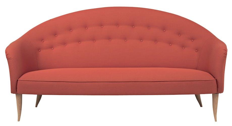 Sofa med farge til hjemmet.