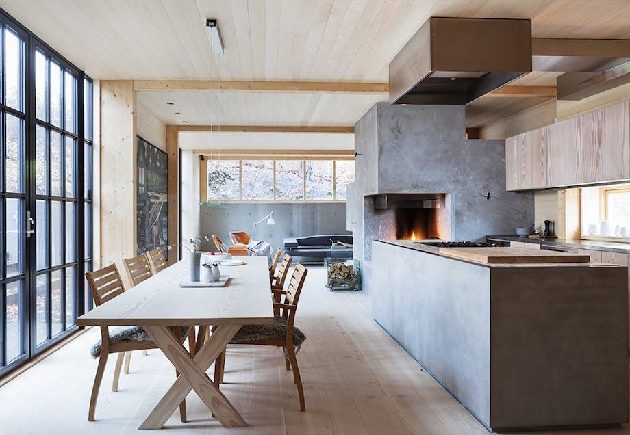 Kjøkkenøy og romdeler