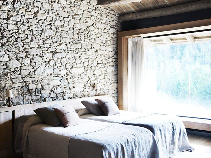 Deilig soverom med vakker utsikt