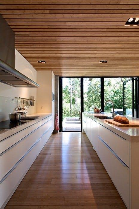 Kjøkkenet er husets hjerte