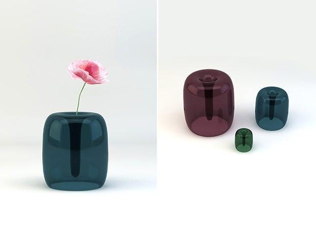 Soft vase