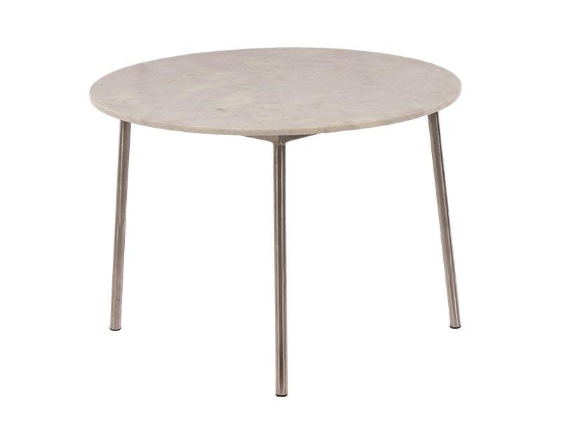 Magisk materialmiks i steintøft bord