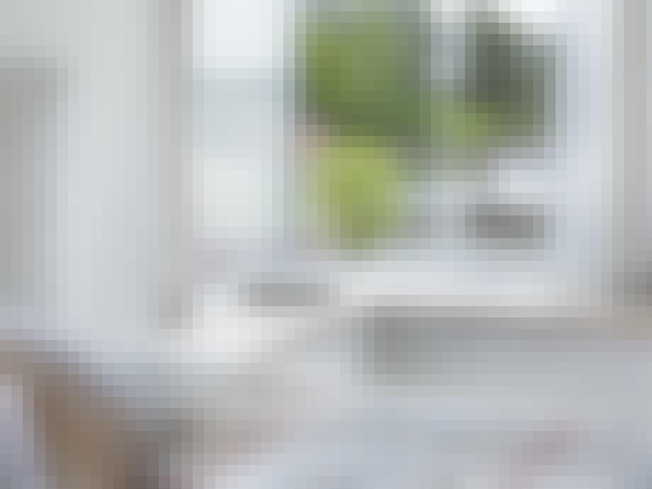 Panoramautsikt på soverommet