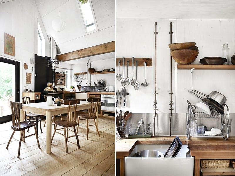 Kjøkken med kjærlighet til naturen