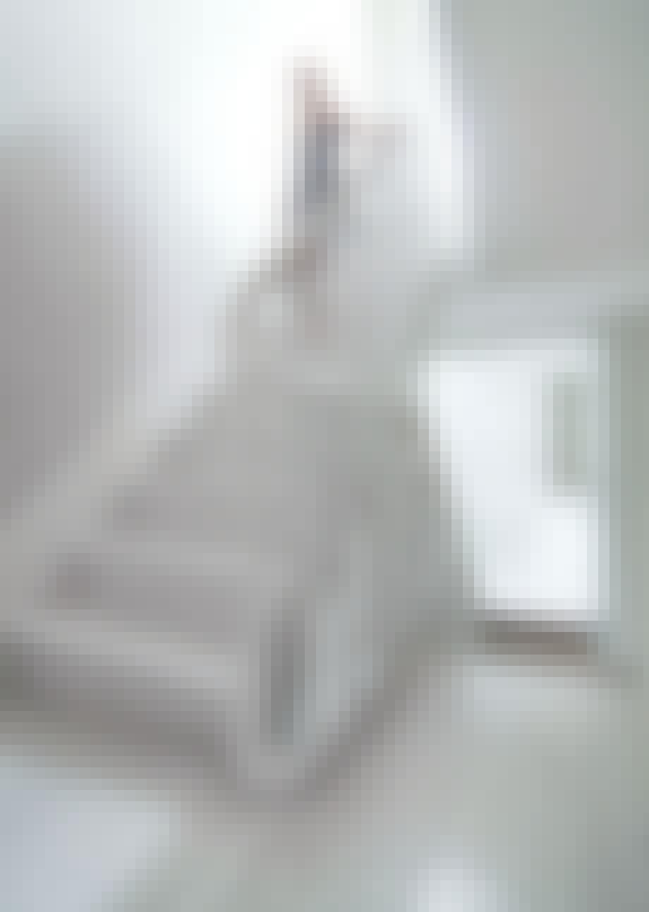 Hvitt i trappen