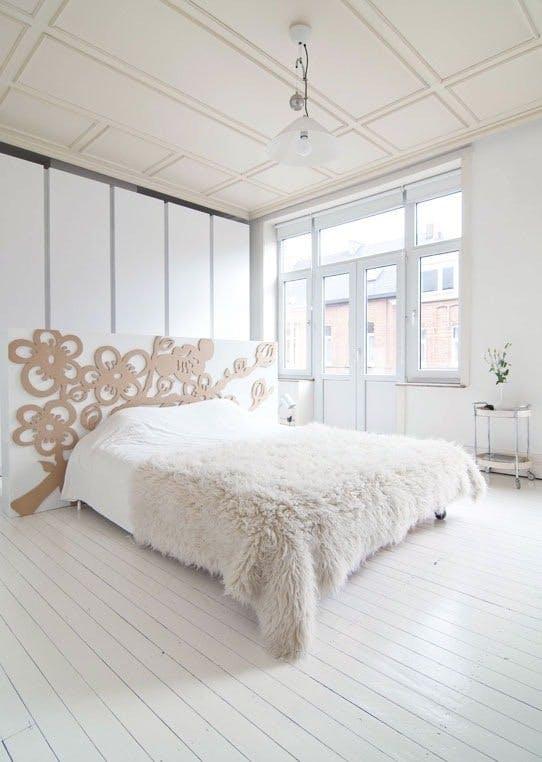 Svalt og stilig på soverommet