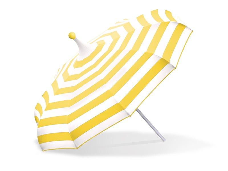 Stilige striper til beskyttelse mot solen