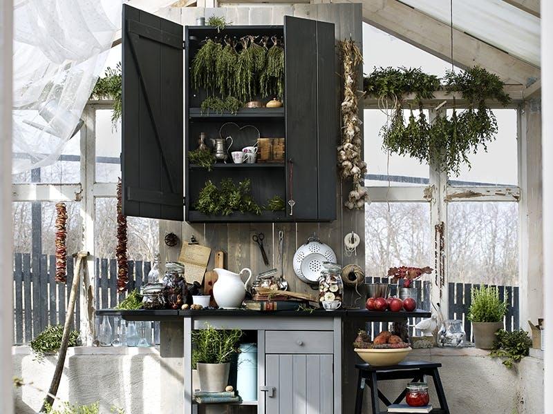 Kjøkken: Et frodig rom