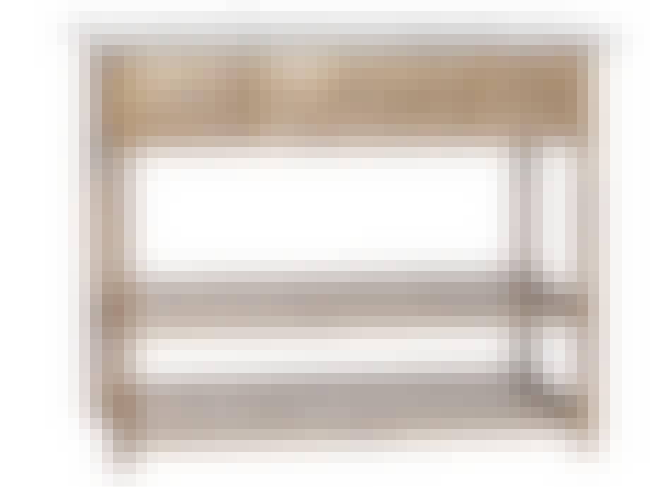 Utekjøkken: Rustikk benk