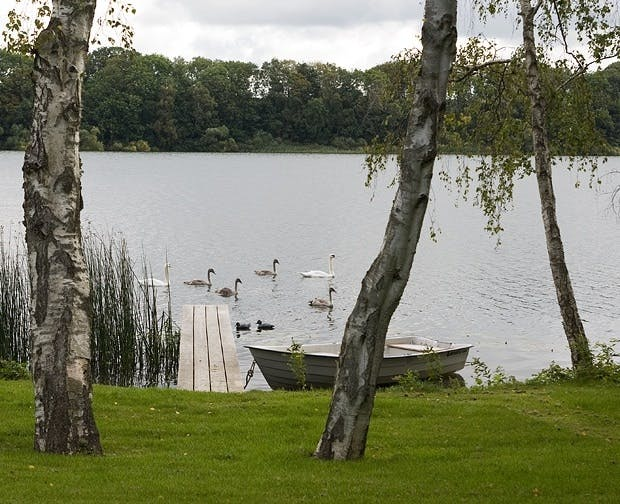 Feriested ved innsjøen