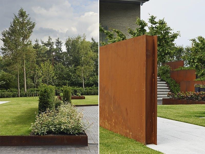 Kontraster mellom vegger og planter