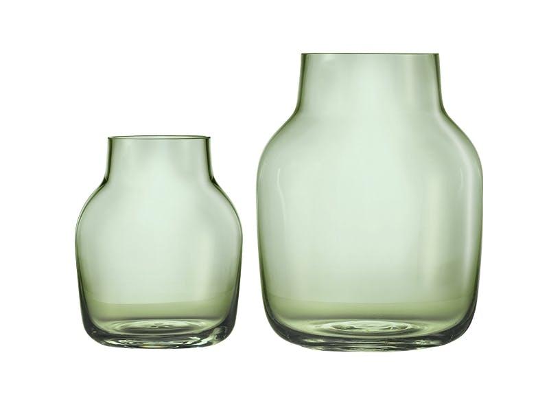 Fine grønne glassvaser