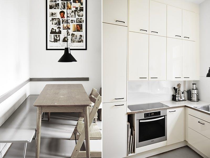 Kontraster på kjøkkenet