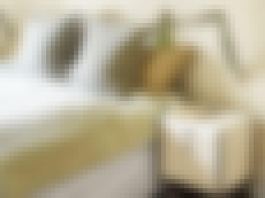 Stilige fargekombinasjoner på soverommet