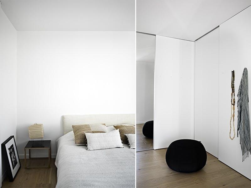 Enkelt og elegant på soverommet