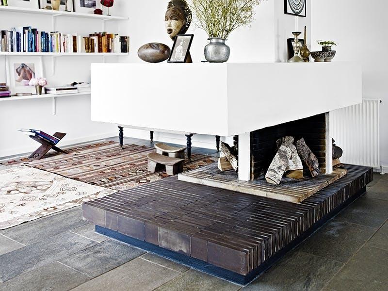 Luftige rom gir møblene plass