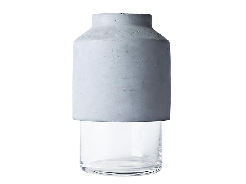 Topptung vase i betong