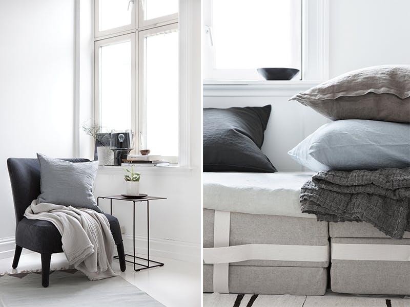 Komfortsoner med tekstiler