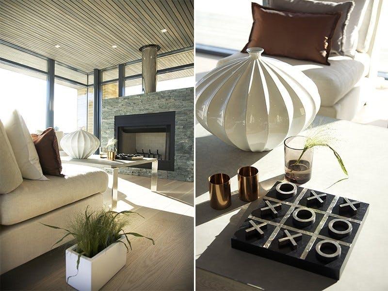 Lys stue og vakre detaljer