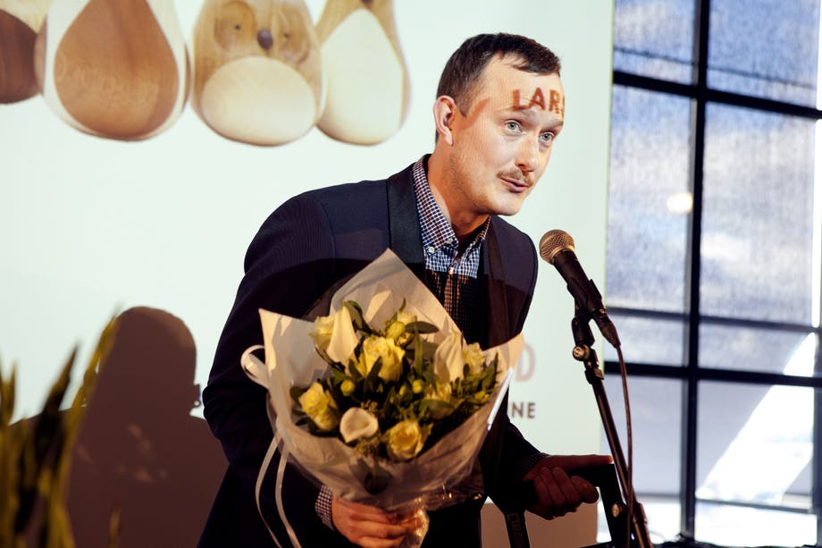 Årets tilbehør er Re-Turned av Lars Beller Fjetland for Discipline