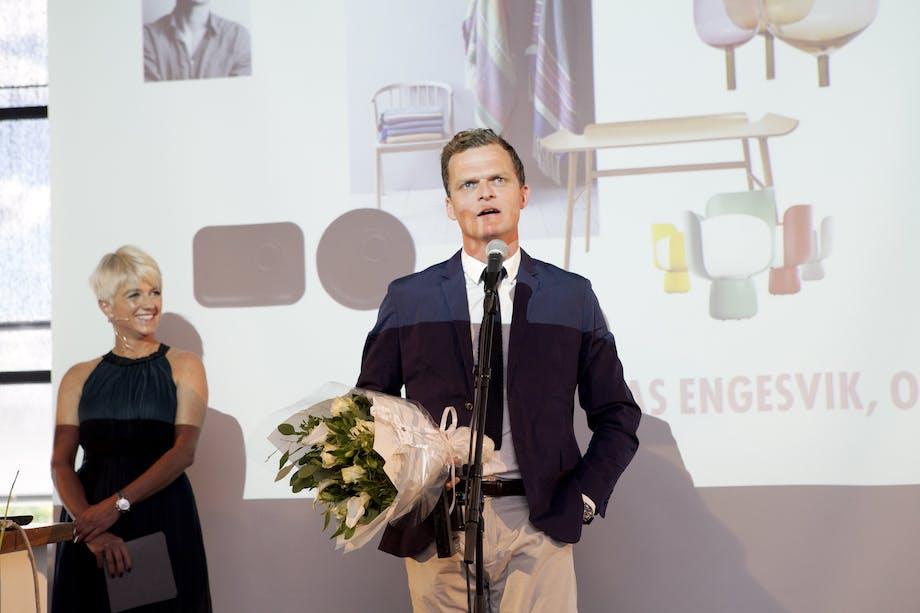 Årets designer er Andreas Engesvik, Oslo!