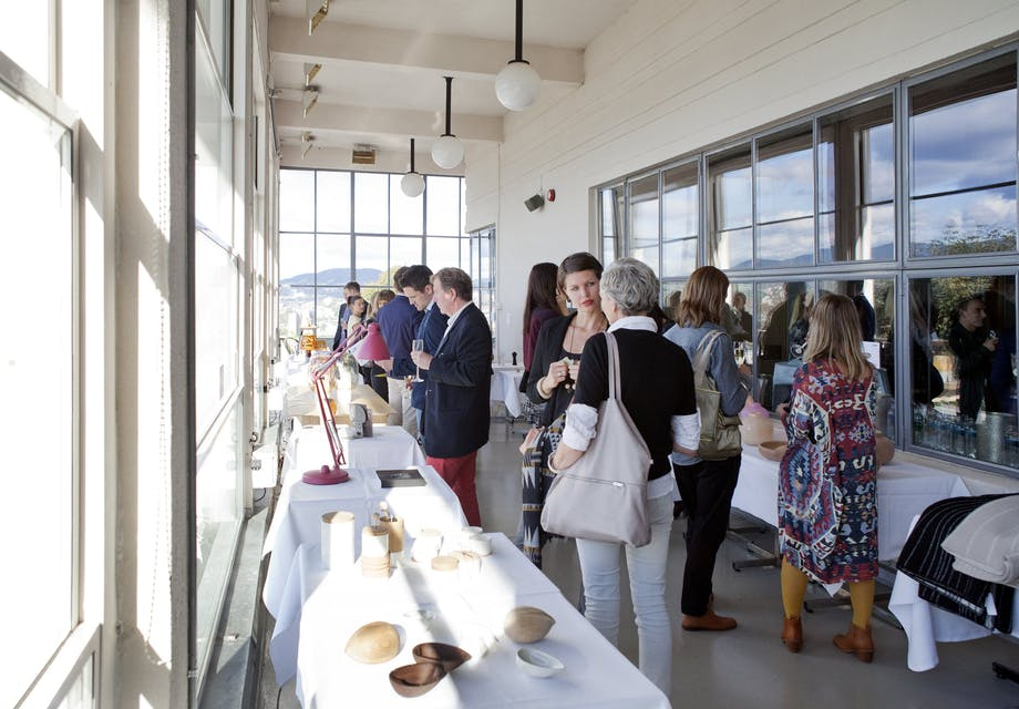 Lekker norsk design på utstilling
