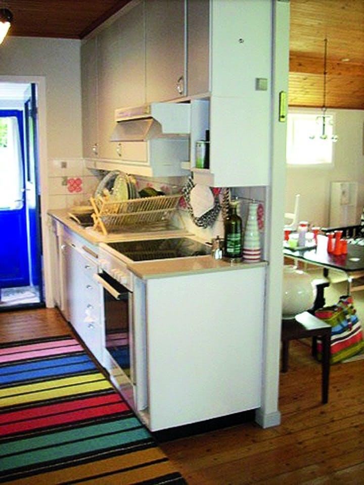 Kjøkkenet før