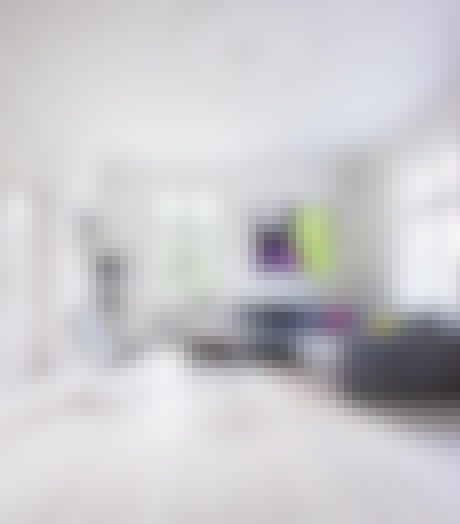 Nye gulv og null gardiner