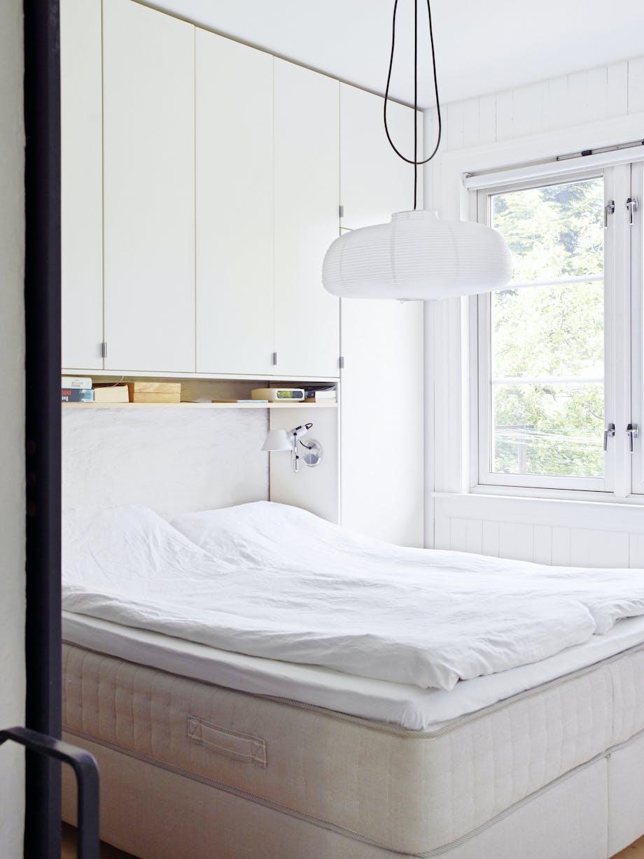 Ren stil på soverommet