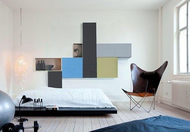Møbler som dekorasjon