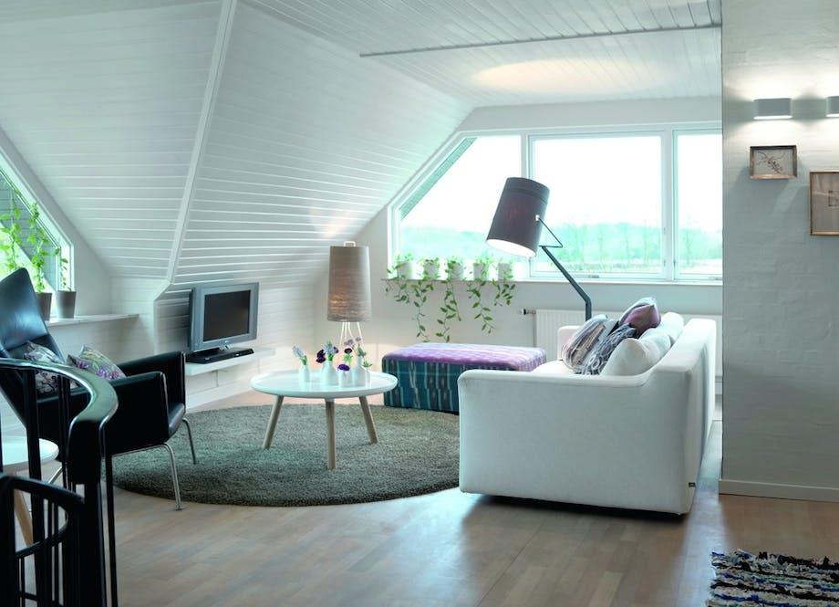 En helt ny lounge.