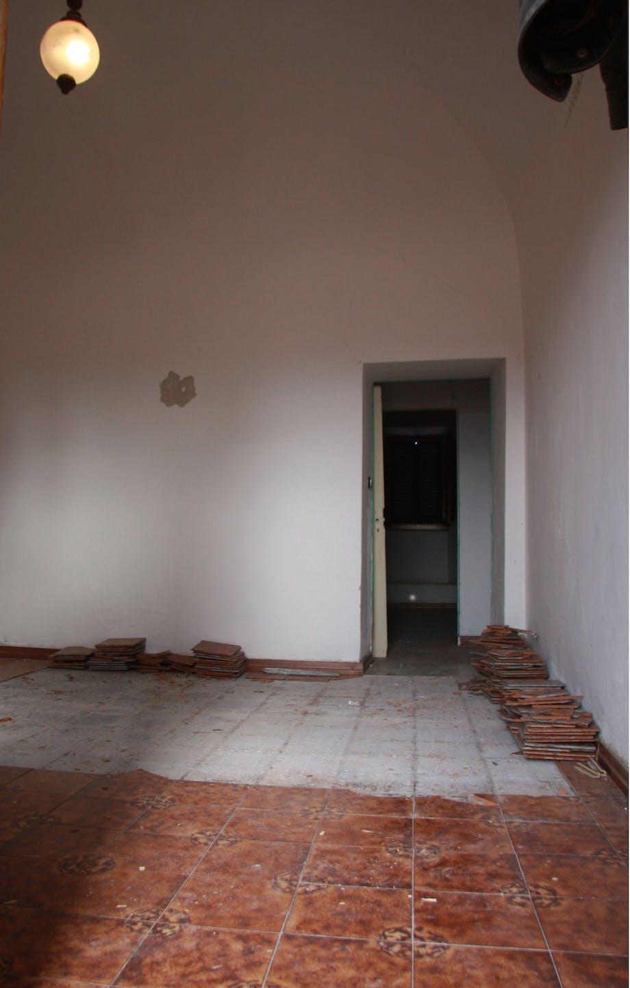 Stuen før.
