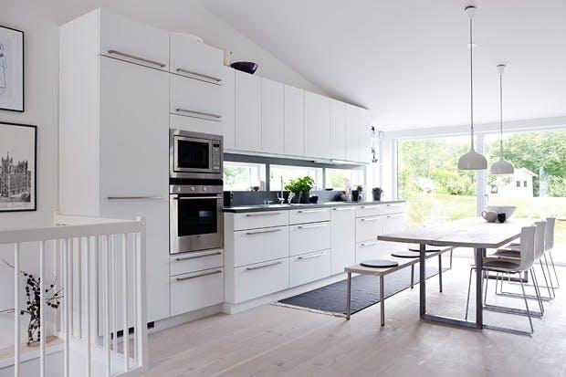 Kjøkken i nybygget