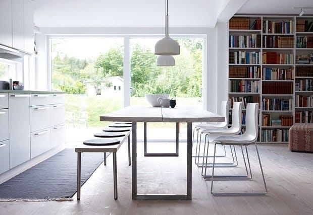 Møbler av gulvplanker
