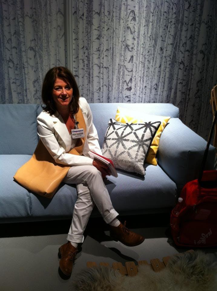 Sitter godt i norsk sofa