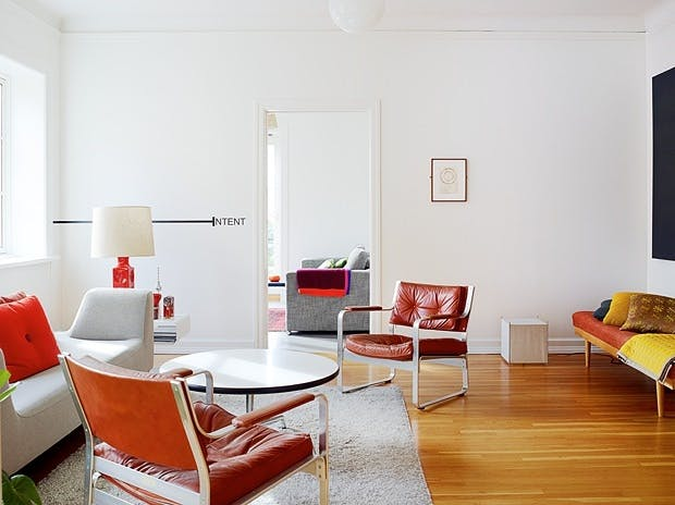 Kunstnerisk leilighet