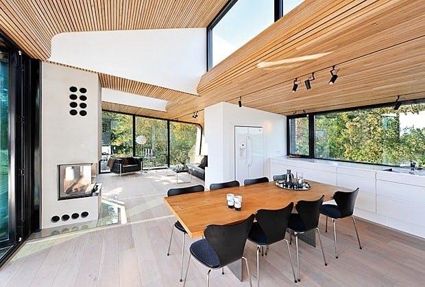 Arkitekttegnet hytte