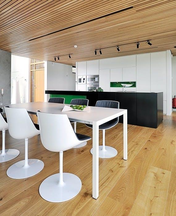 Moderne spiseplass