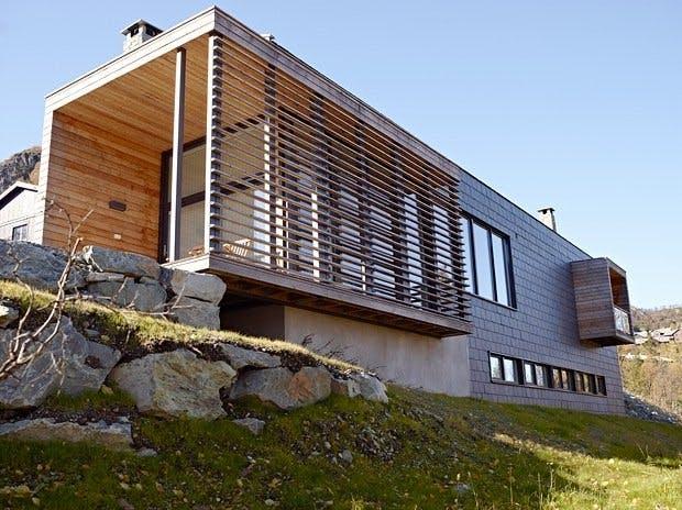 Moderne hyttearkitektur