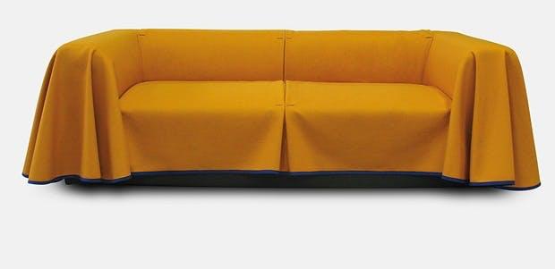 Sofa med kappe