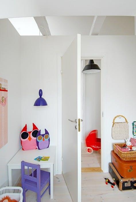 Kreative løsninger på barnerommet