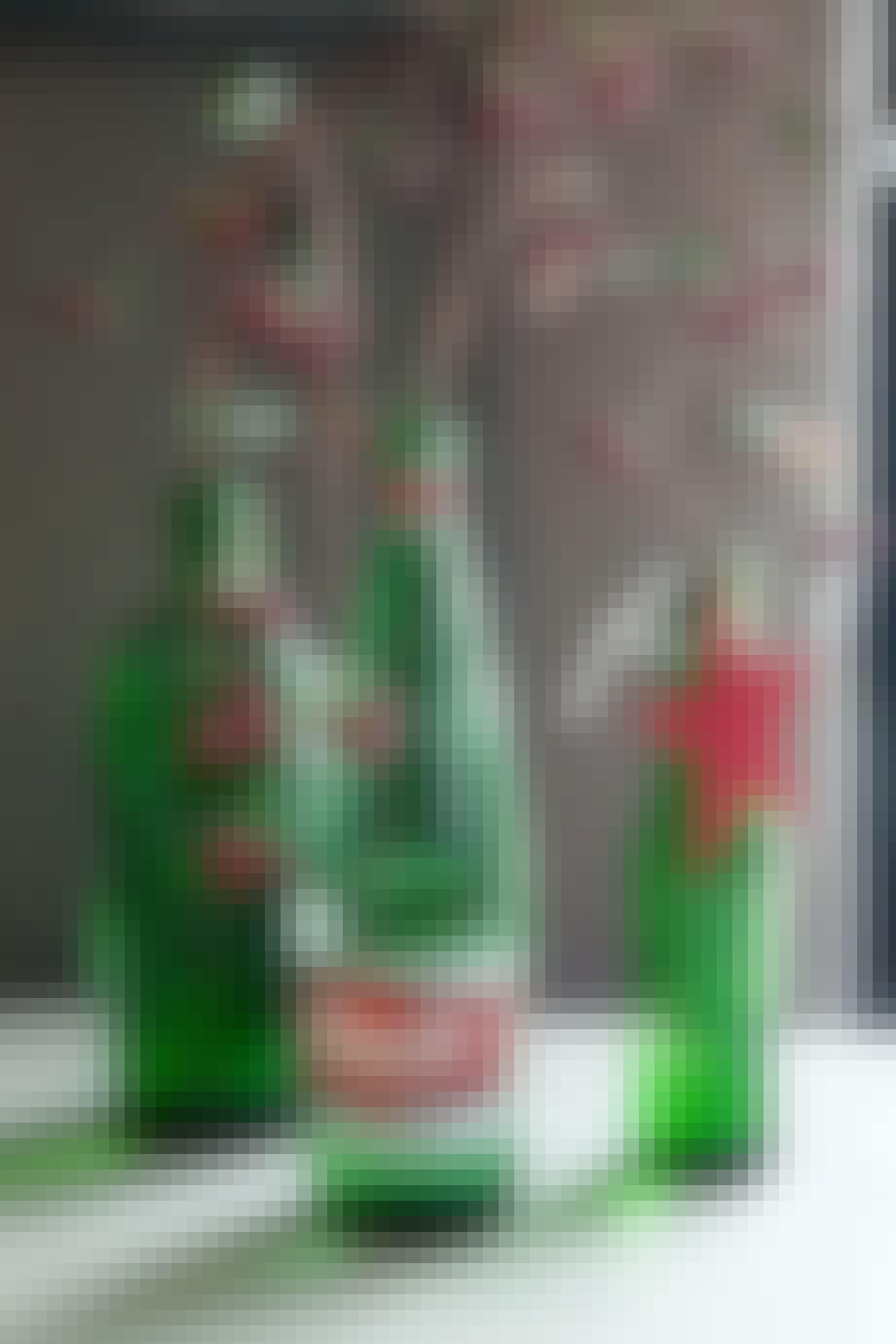 11. Lag grønne flaskevaser
