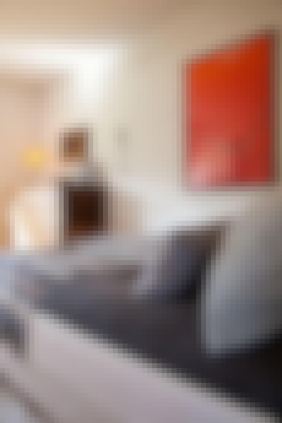 Kontraster på soverommet