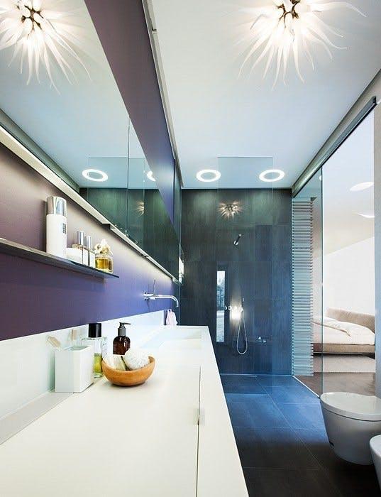 Luksuriøst bad