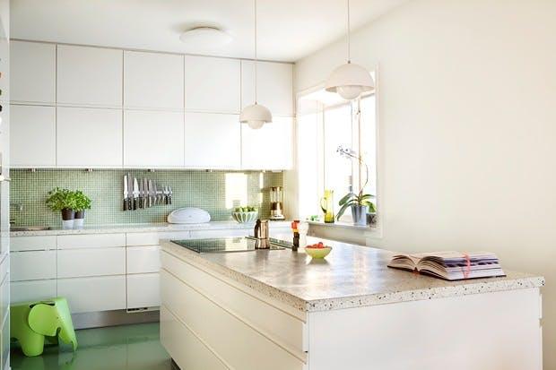 Terrazzo på kjøkkenet