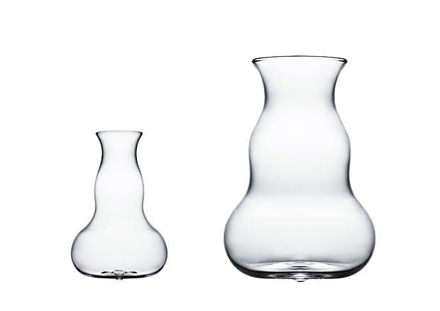 Multifunksjonelle glassvaser