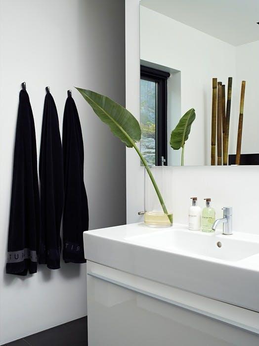 Minimalistisk bad