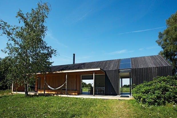 Enkel hytte