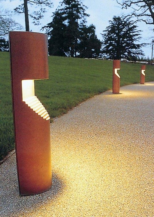 Designbelysning utendørs