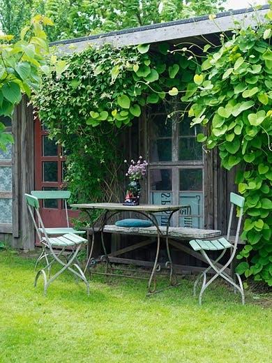 Frokostplass i hagen